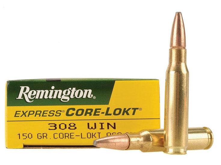 REMINGTON- 308 COR-LOKT 150GR PSP