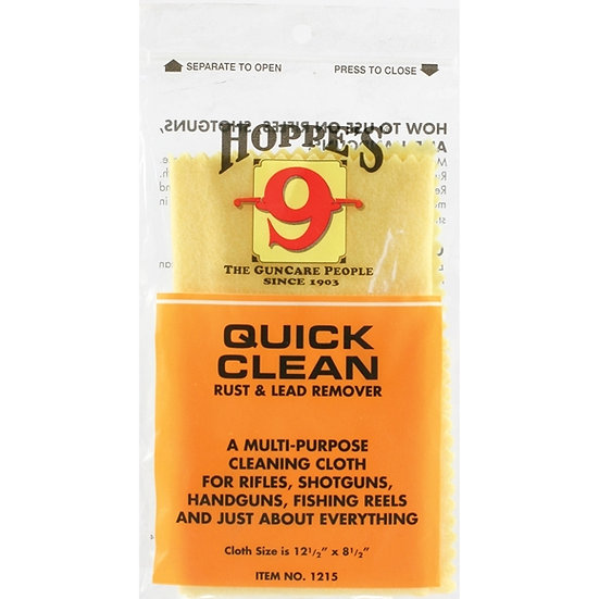 HOPPES- RUST AND LEAD REMOVER CLOTH