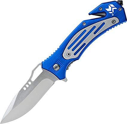 SWISS TECH- FOLDING RESCUE KNIFE