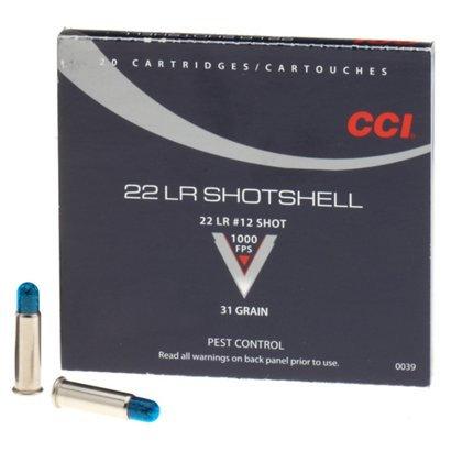 CCI 22LR SHOTSHELL RIMFIRE