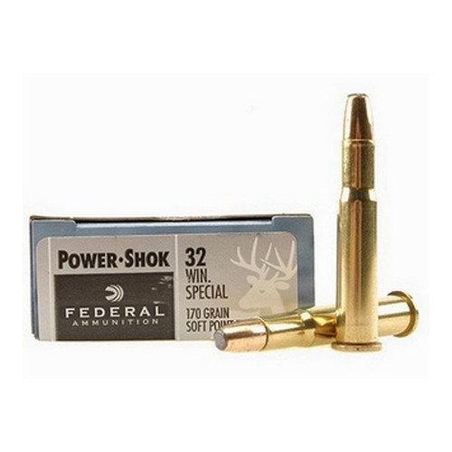 FEDERAL - 32 WIN SPEC 170GR JSP POWER-SHOK