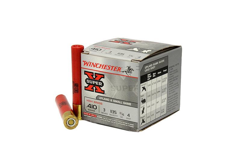 WINCHESTER - SUPER X 410GA 3 INCH 4 SHOT