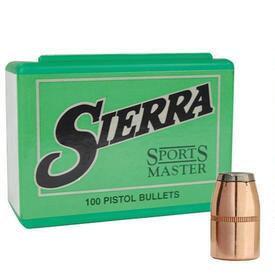 SIERRA- 38CAL 125GR JSP 100PK PROJECTILE