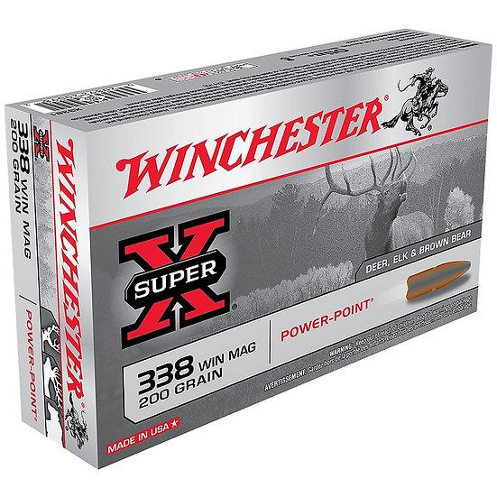 WINCHESTER - SUPER X 338 WIN MAG 200GR