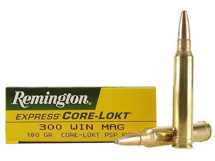REMINGTON- 300 WIN MAG 180 GRAIN CORE LOCK