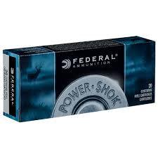FEDERAL 223 55GR SOFT POINT POWER SHOCK
