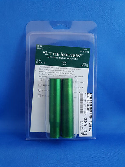 LITTLE SKEETERS MINI TUBE GUAGE REDUCERS