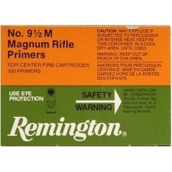 REMINGTON 9 1/2 MAGNUM RIFLE PRIMERS 100PK