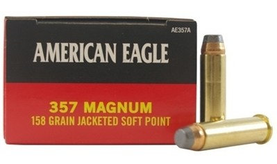 FEDERAL- AMERICAN EAGLE 357 158GR JSP AE