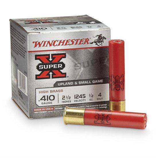 WINCHESTER - SUPER X 410 2.5 INCH 4 SHOT