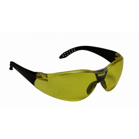 PRO-TACTICAL SHOOTING GLASSES YELLOW IN CASE