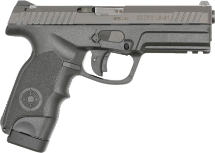 STEYR L9-A1 9MM PISTOL + 1 SPARE MAG