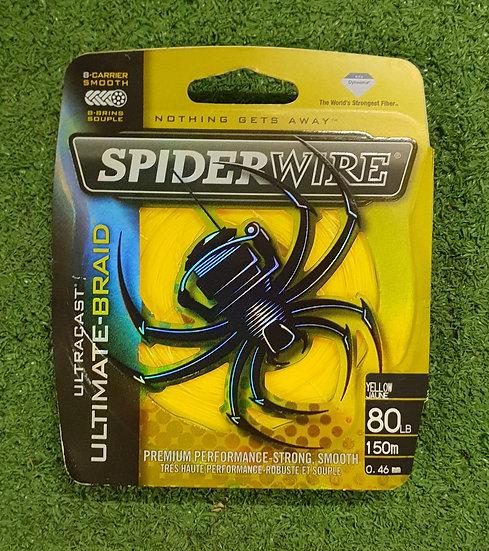 SPIDERWIRE- 80LB YELLOW