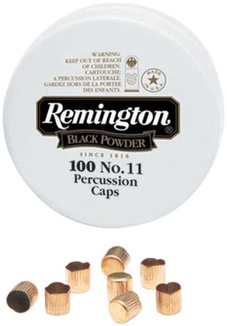 REMINGTON - PERCUSSION CAPS 100PK