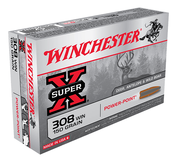 WINCHESTER 308 WIN 150GR PP