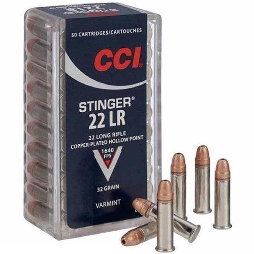 CCI 22LR STINGER 32GR HP