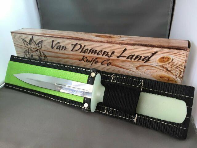 VAN DIEMANS LAND -PIG STIKER W/SHEATH, GLOW HANDLE