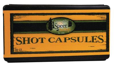 SPEER 38/357 EMPTY CAPSULES W/BASE PLUGS
