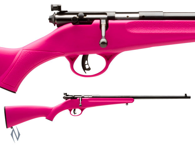SAVAGE- RASCAL 22LR PINK SYNTHETIC SINGLE SHOT