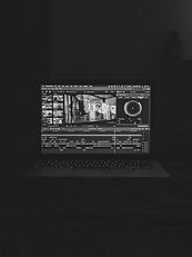 black flat screen computer monitor_edite