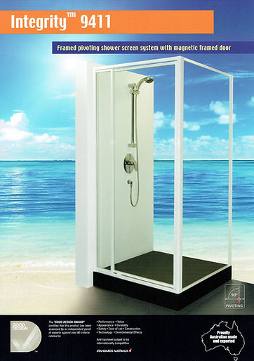 Shower screen Integrity 9411