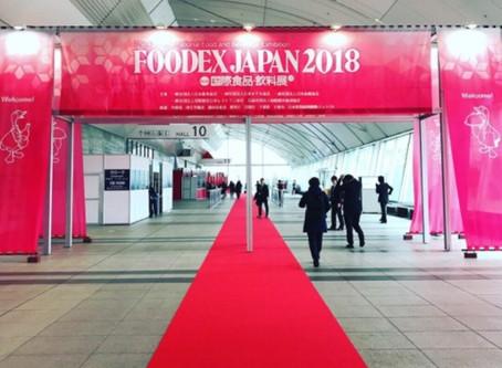 【支援日記】FOODEX JAPAN2018