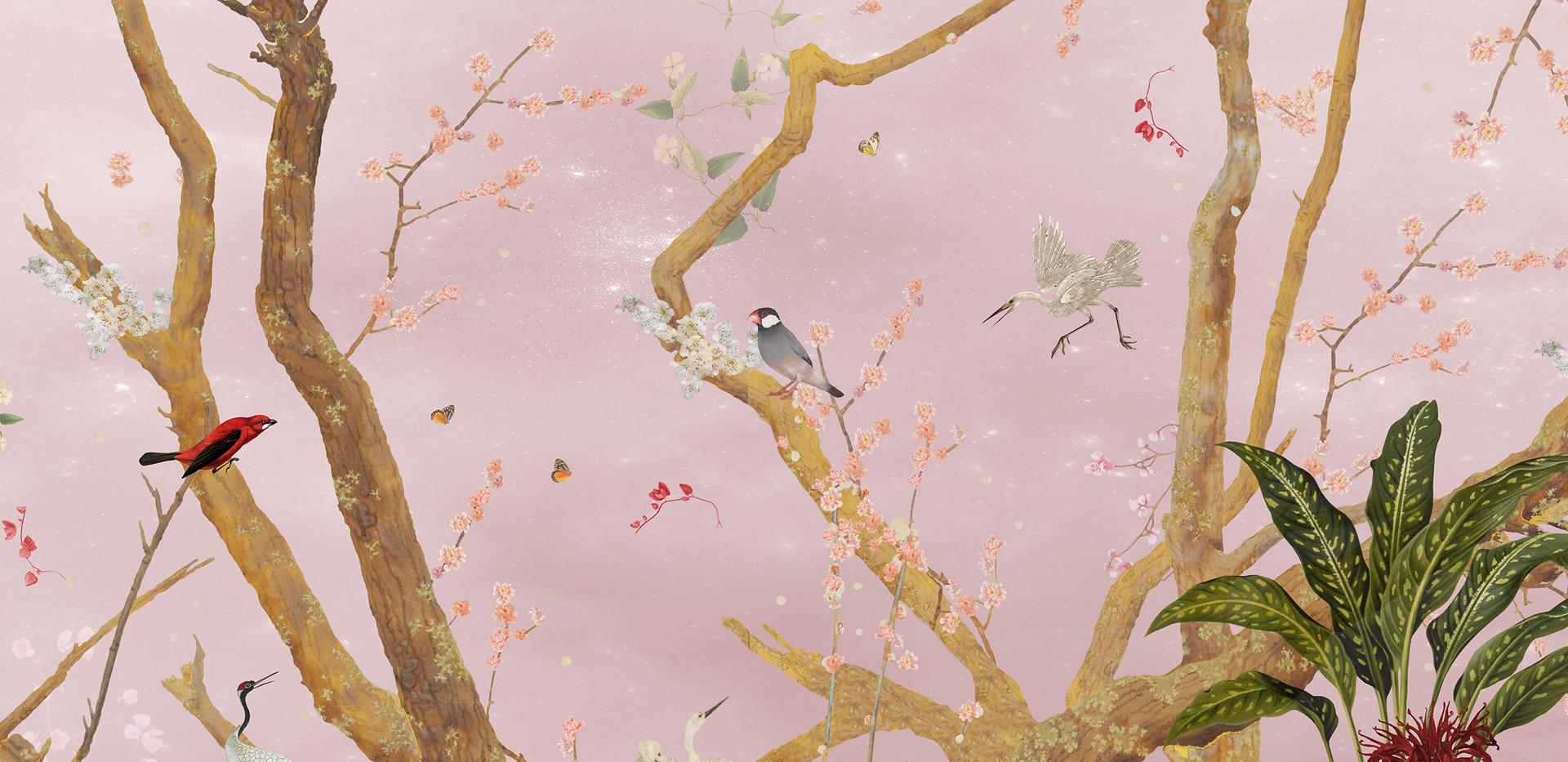 Mystic Garden Pink