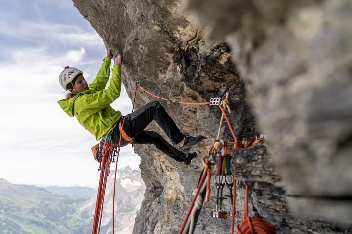 "Robert Jasper in ""Meltdown"", Eiger Nordwand"