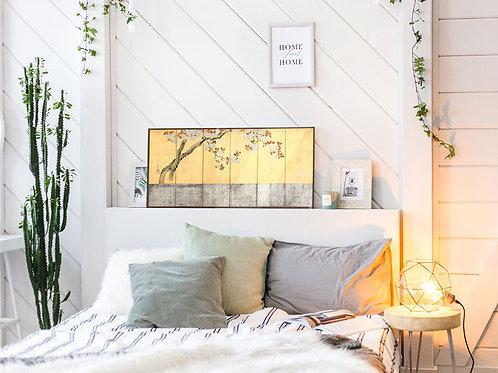 Mini Cherry Tree  60 x 28 cm plus ophangplaat