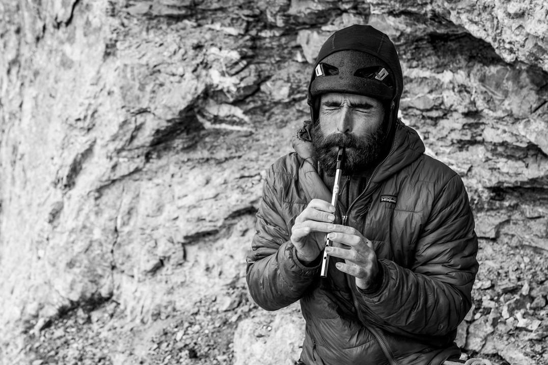 "Sean Villanueva O'Driscoll in ""La vida es silbar"", Eiger Nordwand"