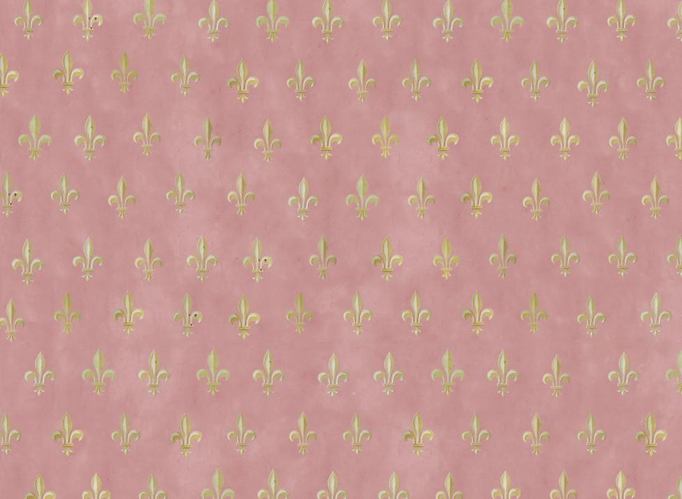 Fleurs de Lis Pale Pink