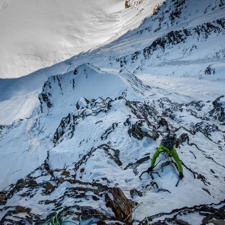 Erstbegehung Jungfrau Nordwand