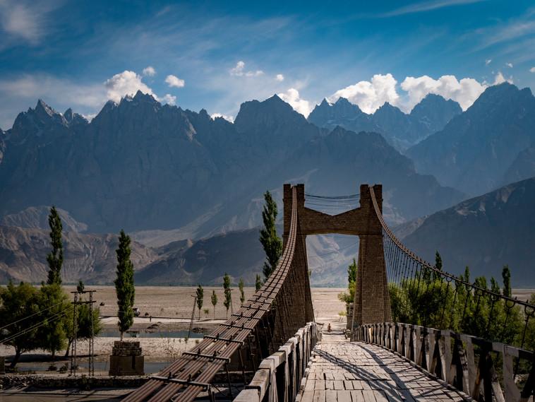 Brücke in Pakistan