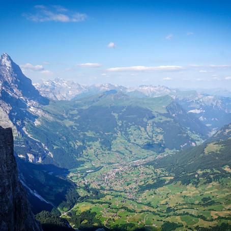 """Scheidegg Wetterhorn """"Pargätzi Pfeiler"""""""