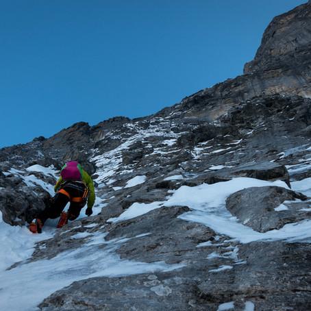 Seilschaftsspeedrekord in der Eiger Nordwand