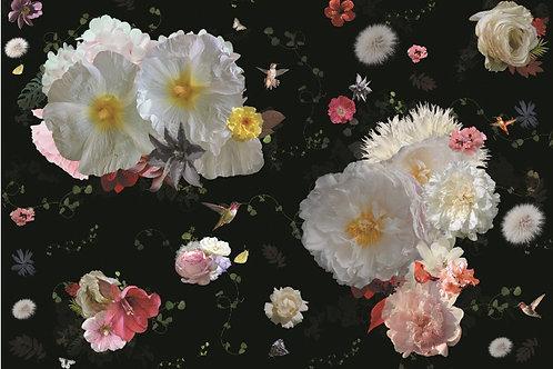 Staaltje Roses behang en Ecotex