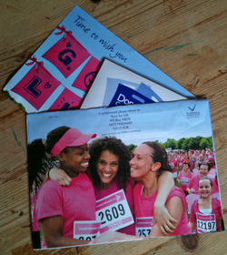 CRUK - Race For Life direct mailer