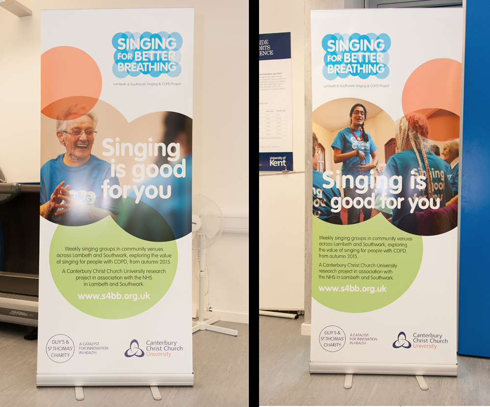 Singing For Better Breathing Posters