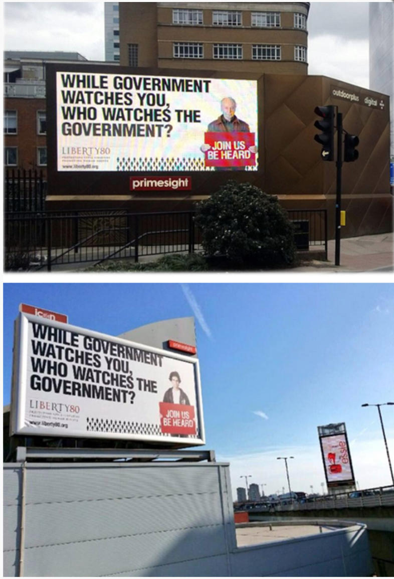 Liberty - Billboard campaign