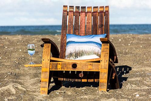 Wine Barrel  Oak Stave Chair