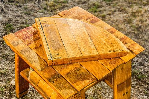 Wine Barrel Oak Cheese Wedge