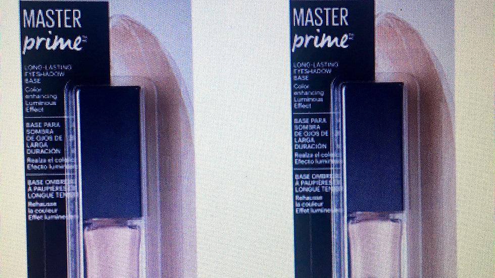 MAYBELLINE-Master Prime primer Prime + Iluminar 430 Base de Sombra de Ojos Sella