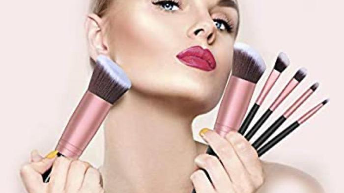 Brochas Bestope Pinceles de maquillaje 16 unidades