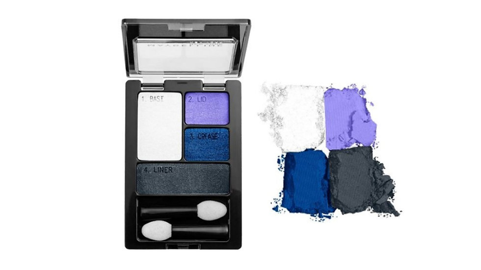 Sombra-EXPERT WEAR® EYE SHADOW QUADS ELECTRIC BLUE