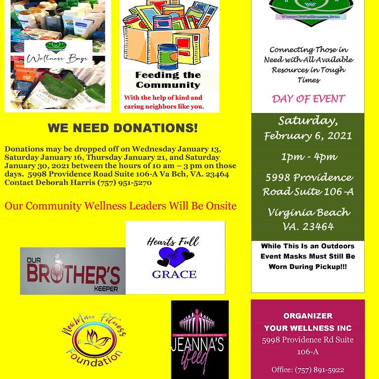 Community Wellness Distribution Day