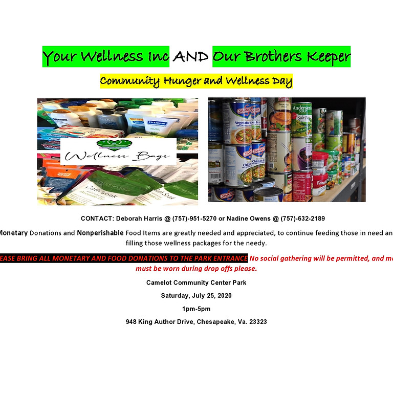 Community Hunger and Wellness Day