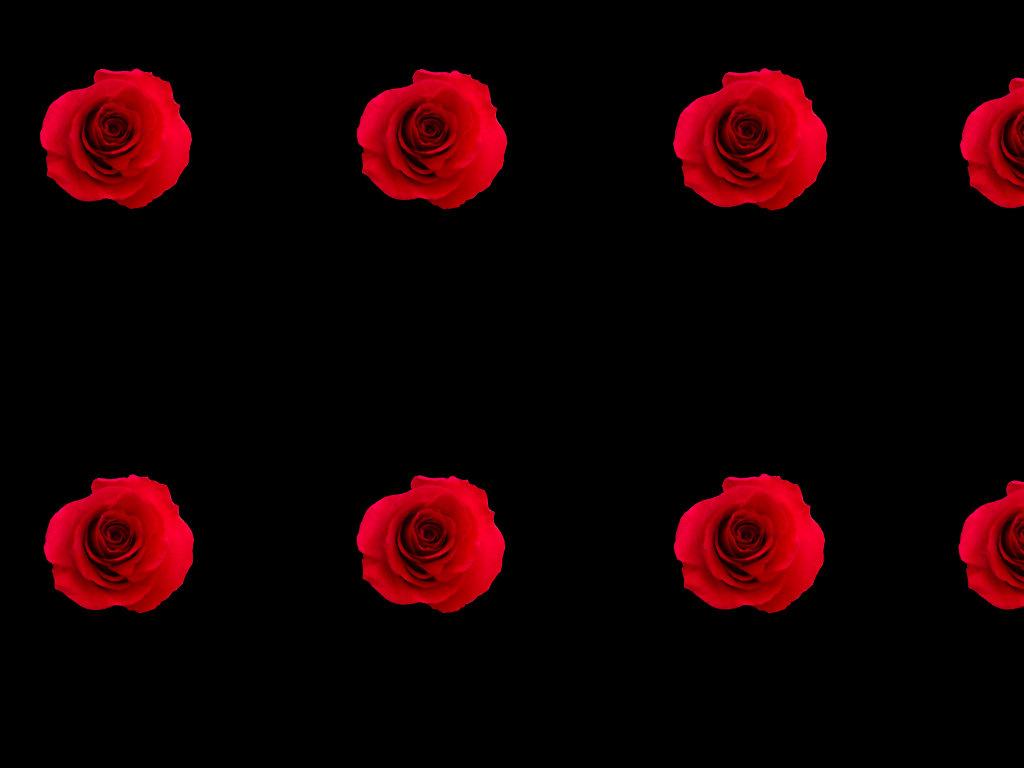9109 (14)_Briar Rose Red All Over™ (blk. bg)_Art_by Anastasia V. Silva_The New Romantic Renaissance (by AVS)