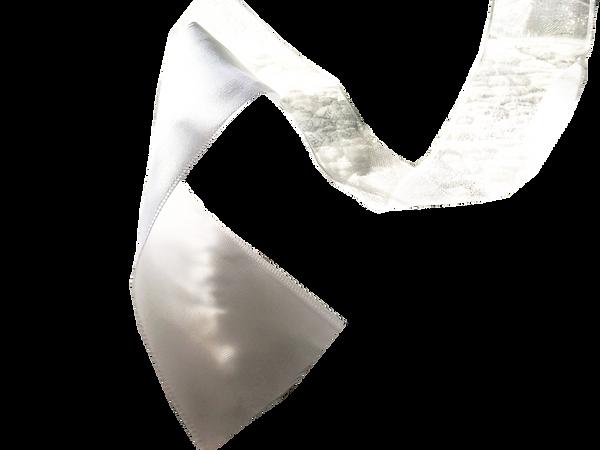 8060_B-roll_Clip Art_Single Ribbon_White_Womens_Bridal by AVS_Designed by Anastasia V. Silva_The New Romantic Renaissance_(by AVS)