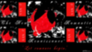 #2_Shy Roses_Let Romance Begin_Art is Life_Flag Poster_Art_Modern_Graphic_Designed by Anastasia V. Silva_The New Romantic Renaissance_(by AVS)