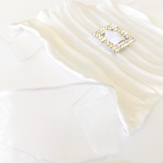 Wedding Wristlets™ in Pure Morning, Sparkling + Dreaming on a Cloud by AVS™ | Anastasia V. Silva™
